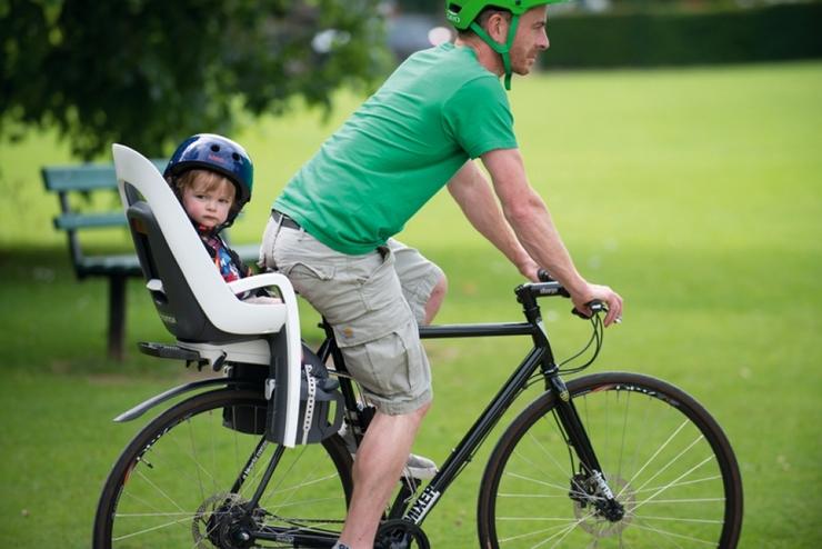 Выбор детского велокресла
